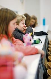 Kinder und Jugendliche sollen mitreden können. (Bild: Symbolbild: Stefan Kaiser (Zug, 22. November 2017))
