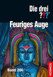So sieht das Cover der Jubiläumsausgabe aus. Die Detektivgeschichten von den «drei Fragezeichen» begeistern Jugendliche seit einem halben Jahrhundert.