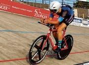 Mountainbiker Simon Vitzthum fühlt sich neuerdings auch auf der Bahn wohl: In Aigle gewann er seine erste Medaille an Schweizer Meisterschaften auf dem Parkett. (Bild: Archiv/IG Offene Rennbahn)