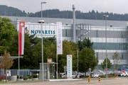 Ein Produktionswerk von Novartis in Stein. (Bild: Georgios Kefalas / Keystone, 3. September 2018))