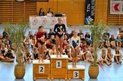 In der Kategorie 4 gewinnt Noelia Eigensatz die Goldmedaille. (Bild: PD)