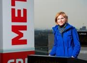 Sandra Boner, Moderatorin bei SRF Meteo. (Bild: Oscar Alessio / SRF)