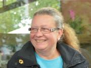 Karin Winter (SVP). Sie sitzt ebenfalls seit 1. Januar 2009 im St.Galler Stadtparlament. Die präsidiert derzeit die SVP-Fraktion. Beruflich ist sie als Handelslehrerin am Kaufmännischen Berufs- und Weiterbildungszentrum tätig. (Bild: Ralph Ribi - 17. August 2014)