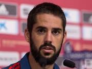 Wird dem spanischen Nationalteam und Real vorerst nicht zur Verfügung stehen: Mittelfeldspieler Isco (Bild: KEYSTONE/EPA EFE/RODRIGO JIMÉNEZ)