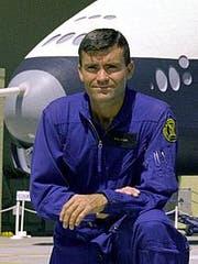 Fred Haise. Bild Wikipedia