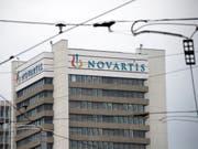 Gebäude der Novartis auf ihrem Campus in Basel. (Bild: KEYSTONE/Georgios Kefalas)