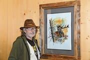 Pips Gantenbein zeigt herbstliche Sujets im Stütlihus, hier sein Lieblingsbild. (Bild: Hansruedi Rohrer)