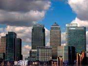 Der anstehende Austritt Grossbritanniens aus der EU setzt dem Londoner Finanzplatz bislang weniger hart zu als erwartet: Bislang wurden viel weniger Jobs verlagert als zunächst befürchtet. (Bild: KEYSTONE/EPA/ANDY RAIN)
