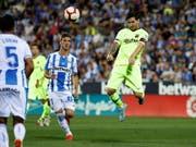 Lionel Messi kassiert mit dem FC Barcelona die erste Saisonniederlage (Bild: KEYSTONE/EPA EFE/JUANJO MARTIN)