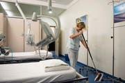 Der Optimierungsprozess ist mit der Auslagerung von Reinigung und Wäscherei noch nicht beendet. (Bild: Urs Jaudas (Kantonsspital St.Gallen, 2013))
