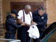 Der einstige US-Fernsehstar Bill Cosby hat seine Haftstrafe wegen sexuellen Missbrauchs angetreten. (Bild: KEYSTONE/AP/JACQUELINE LARMA)