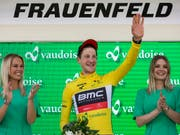 Durfte sich zum Tour-de-Suisse-Auftakt in Frauenfeld ins Gelbe Trikot einkleiden lassen (Bild: KEYSTONE/ALEXANDRA WEY)