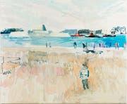 «In from the Blue»: Diese Arbeit von Rachel Lumsden gab der aktuellen Konstanzer Ausstellung auch den Titel.
