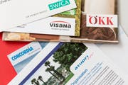 Eine Vielfalt an Kassen versichert uns im Gesundheitswesen. (Bild Keystone/Gaetan Bally)