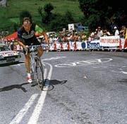Beat Breu in seinem Element am Giro d'Italia 1992. (Bild: Imago)