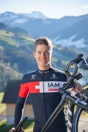 Der Toggenburger Veloprofi Patrick Schelling, als er noch für das Schweizer Team IAM fuhr. (Bild: David Suter)