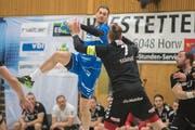 Mit acht Treffern erfolgreichster Krienser Schütze: Luca Spengler. (Bild: Pius Amrein (Luzern, 28. März 2018))