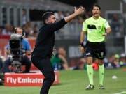 Gennaro Gattuso muss sich mit den Milanisti nicht selten ärgern (Bild: KEYSTONE/AP/LUCA BRUNO)