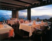 Blick ins Restaurant in der «Bergsonne». (Bild: PD)
