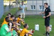 Am Wochenende schaffte Wattwil Bunt nach den Pauseninstruktionen von Trainer Jan Rüeger die Wende. Im umgekehrten Fall der Pausenführung halfen die Worte zur Pause nicht. (Bild: Walter Züst)