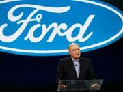 Der Chef des US-Autobauers Ford, Jim Hackett, beklagt die Belastungen der US-Handelspolitik auf seinen Konzern. (Bild: KEYSTONE/AP/CARLOS OSORIO)