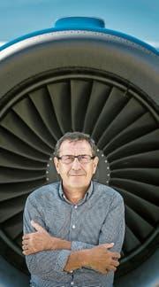 Markus Kopf (63) ist Besitzer des Flugplatzes in Altenrhein sowie der Fluggesellschaft People's Viennaline. (Bild: Michel Canonica)