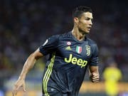 Cristiano Ronaldo ist nur gegen die Young Boys gesperrt (Bild: KEYSTONE/EPA ANSA/FEDERICO PROIETTI)
