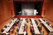 Rund 100 Interessierte waren am Anlass im Casino zugegen. (Bild: PD)