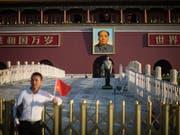 China hat am Donnerstag einen 28-jährigen verurteilten Straftäter hingerichtet. (Bild: KEYSTONE/EPA/ROMAN PILIPEY)