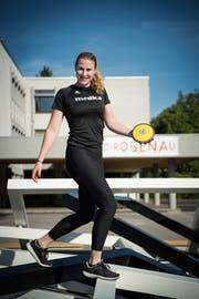 Die 21-jährige Chantal Tanner hat trotz ihrer Grösse ein ausgezeichnetes Bewegungsgefühl. (Bild: Ralph Ribi)