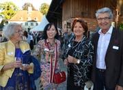 Gertrud Bachmann, Mutter von Dieter Bachmann, und dessen Schwester Maya Jöhr-Bachmann, Maria und Jakob Eberhard, Good-Aging. (Bild: Margrith Pfister-Kübler)
