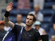 Andy Murray verabschiedet sich für diese Saison von seinen Fans (Bild: KEYSTONE/EPA/DANIEL MURPHY)