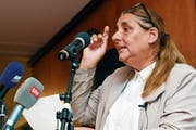 Die Zürcher SP-Nationalrätin Jacqueline Badran. (Bild: Walter Bieri/Keystone (Zürich, 23. August 2018))