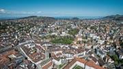 St.Gallen zahlt hohe Wohnsitzzulagen. Andere Städte verzichten darauf. (Bild: Ralph Ribi, 10. April 2017)