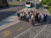 Gemeinderäte der Gemeinden Luzern Ost erarbeiteten das Gesamtverkehrskonzept. Bild: PD