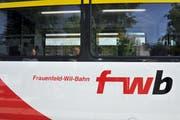 Die Frauenfeld-Wil-Bahn wird wegen Bauarbeiten während zwei Wochen im Oktober durch Busse ersetzt. (Bild: Nana do Carmo )