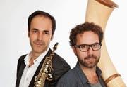 Ihre Musik stösst auf ein breites, begeistertes Echo: Peter und Enrico Lenzin. (Bild: pd)