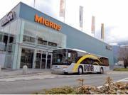 Das Einkaufscenter in Bürglen ist ab November um einen Laden reicher. (Bild: Archiv UZ)