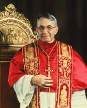 Sass nur 33 Tage auf dem Papstthron: Johannes Paul I. (1912–1978). (Bild: Keystone Rom, 1978)