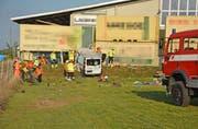 Beim Unfall wurden zwei Personen mittelschwer und schwer verletzt. (Bilder: Kapo TG)