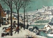 Oft kopiert, sogar von seinen Söhnen: Die flämischen Winterszenen.