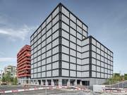 Ganz aus Holz: Bürogebäude S22 auf dem Suurstoffi-Areal in Rotkreuz. (Bild: PD)