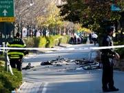 Die Staatsanwaltschaft fordert für einen Usbeken, der zahlreiche Menschen bei einem Anschlag in New York getötet hat, die Todesstrafe. (Archvibild) (Bild: KEYSTONE/EPA/JASON SZENES)