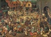 Die Wimmelbilder von Pieter Bruegel des Älteren werden mittels Röntgenstrahlen bis aufs Mark untersucht und analysiert.