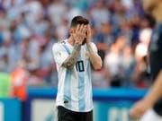 Versteckspiel? Lionel Messi hat seine Zukunft im Nationalteam Argentiniens bisher offen gelassen (Bild: KEYSTONE/AP/RICARDO MAZALAN)