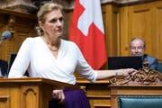 Doris Fiala fordert ein reines Frauen-Ticket von ihrer Partei. (Bild: Peter Klaunzer/Keystone)