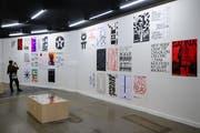In der Kunsthalle ist eine von elf «Weltformat»-Ausstellungen zu sehen. Sie zeigt Werke aus Tschechien. (Bild: Philipp Schmidli, 29. September 2018)