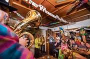 Eine Guggenmusik erreicht in einer Beiz schnell über 100 Dezibel. (Bild: Andrea Stalder (Ermatingen, 26. März 2017))