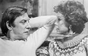 "Donald Sutherland mit Mary Tyler Moore im Film ""Ordinary People"", 1980."