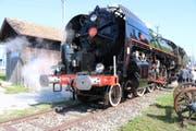 Nicht alltäglich: Die Dampflok «Mikado» begeisterte Fans und Besucher beim Locorama. (Bild: Markus Bösch)